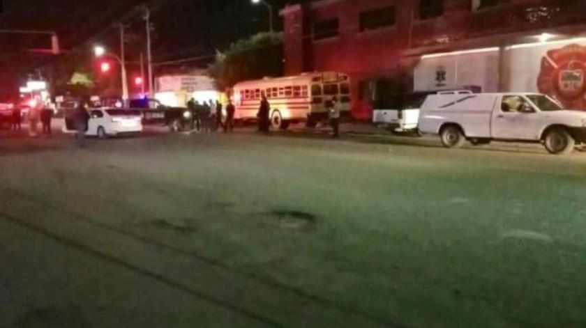 Ataque armado deja 4 muertos frente a cuartel de Bomberos en Ciudad Obregón