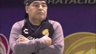 FOTOS: ''Creo en Dios'', futbolista de Dorados se tatúa a Diego Maradona