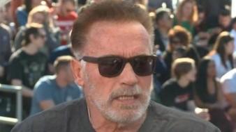 Arnold Schwarzenegger encantado por compromiso de su hija