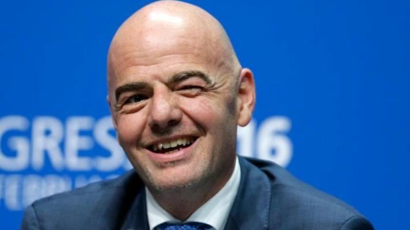 Como fue el único postulado, Gianni Infantino es candidato a la presidencia de la FIFA