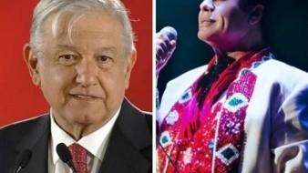 ¿Juan Gabriel envía mensaje a AMLO?
