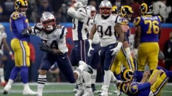 Este es el horroroso récord de la primera mitad del Super Bowl LIII