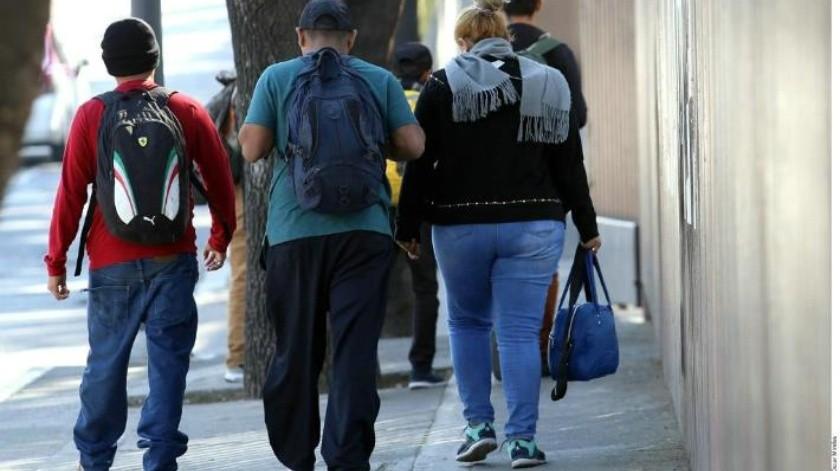 Llega caravana de migrantes a Coahuila