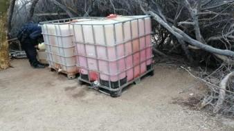 Frenan robo de gasolina en Sonora