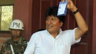 Culpa Evo Morales al TSE de recibir el 45% de apoyo en elecciones primarias
