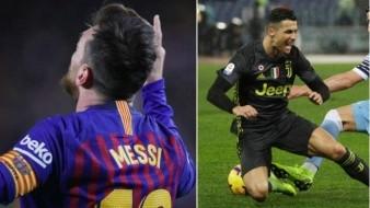 ¡Polos opuestos!, así les fue a Messi y Ronaldo en sus respectivas copas