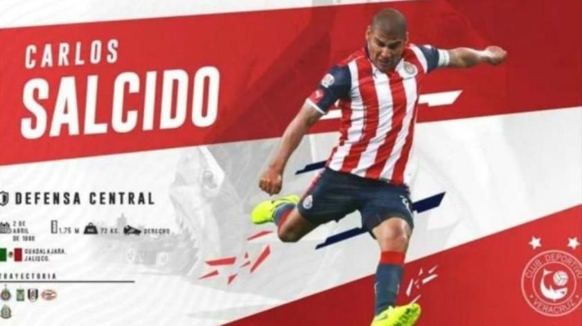 Detectan rarezas en el fichaje de Carlos Salcido con Veracruz; debutaría vs ex
