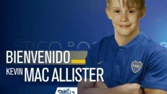 Kevin Mac Allister es el nuevo jugador de Boca Junior