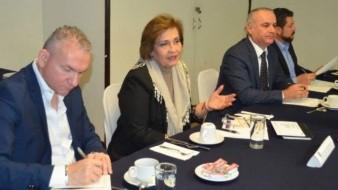Expone titular de la PGJE ante Madrugadores resultados y retos en procuración de justicia