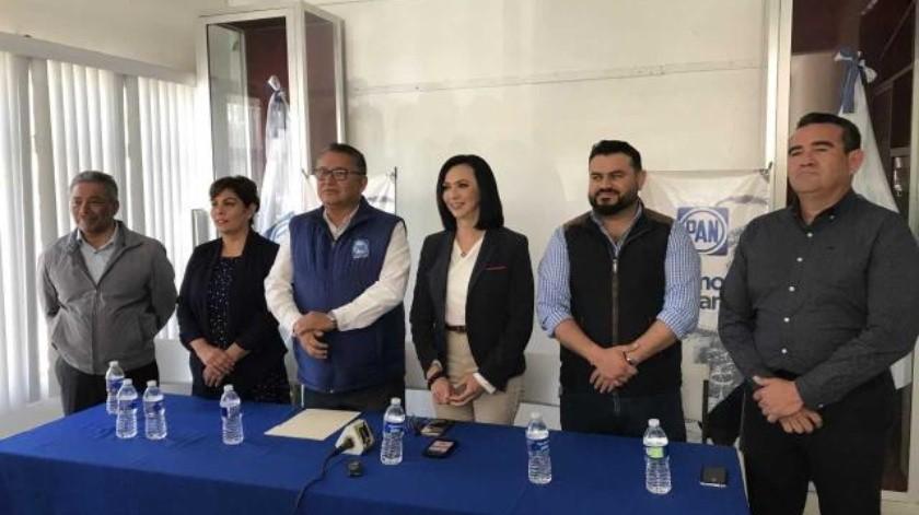 PAN presenta a sus precandidatos en Ensenada