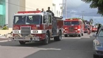 Obregonenses no ceden paso a los bomberos