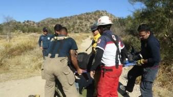 Rescatan a persona lesionada en el Cerro El Bachoco; suman tres en lo que va de 2019