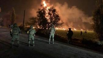 107, el número de muertos en la explosión de ducto en Tlahuelilpan