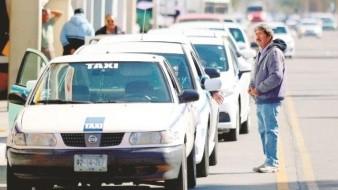 Indefensos los taxistas de Mexicali ante el crimen, denuncian