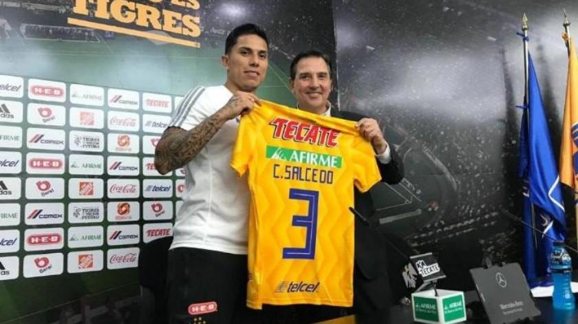 ''Vengo a ser feliz'', Carlos Salcedo en su regreso a México con Tigres