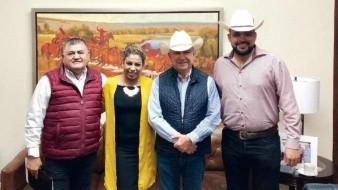 Legisladores sostienen encuentro con Héctor Platt de la UGRS