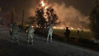 Exigen PAN y PRD a la FGR investigación profunda tras explosión de combustible en Hidalgo