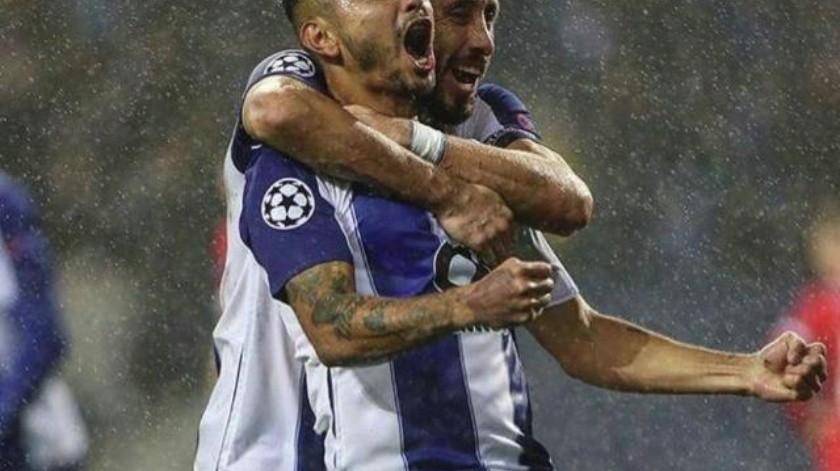 VIDEO:''Tecatito'' hace brillante pared con Herrera y asiste en goleada del Porto