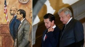 López Obrador habla sobre el supuesto soborno que recibió Peña Nieto de