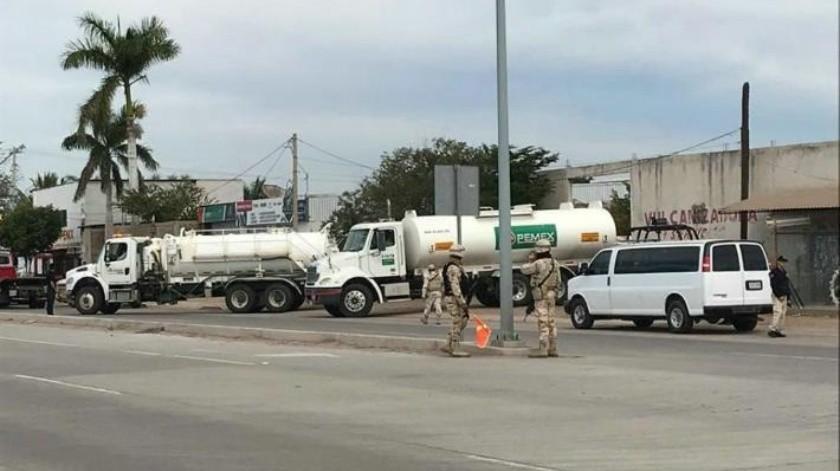 Hallan negocio con presunta gasolina robada en Navojoa