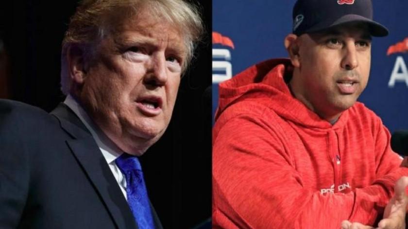 ¡Ni con hamburguesas!, Alex Cora y Medias Rojas dudan visitar a Trump en la Casa Blanca