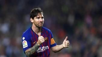 Este es el equipo de futbol mexicano que sigue Messi