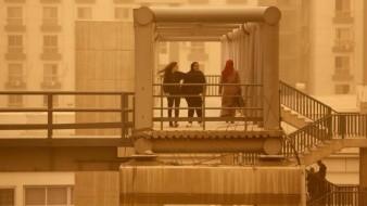 Tormenta de arena, granizo y lluvias azotan Egipto