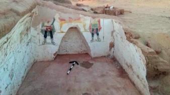 Tumbas de la era romana son descubiertas en desierto de Egipto