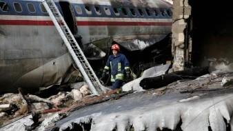 15 muertos y un sobreviviente tras estrellarse avión de carga en Irán