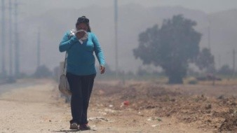 """Llega la polución a nivel """"rojo"""" en Mexicali"""