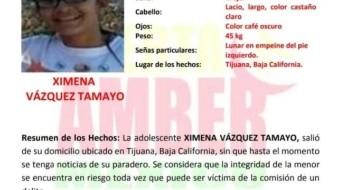 Activan alerta Amber en Baja California por Ximena Vázquez
