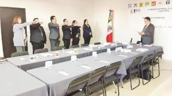 Instalan nueve consejos distritales electorales en BC