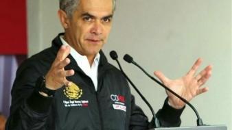 Admite Mancera que no alcanzó para el seguro por desastres