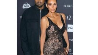 Van Kim y Kanye por su cuarto hijo