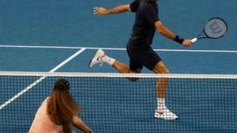 FOTOS: El histórico partido entre Roger Federer y Serena Williams que terminó con una