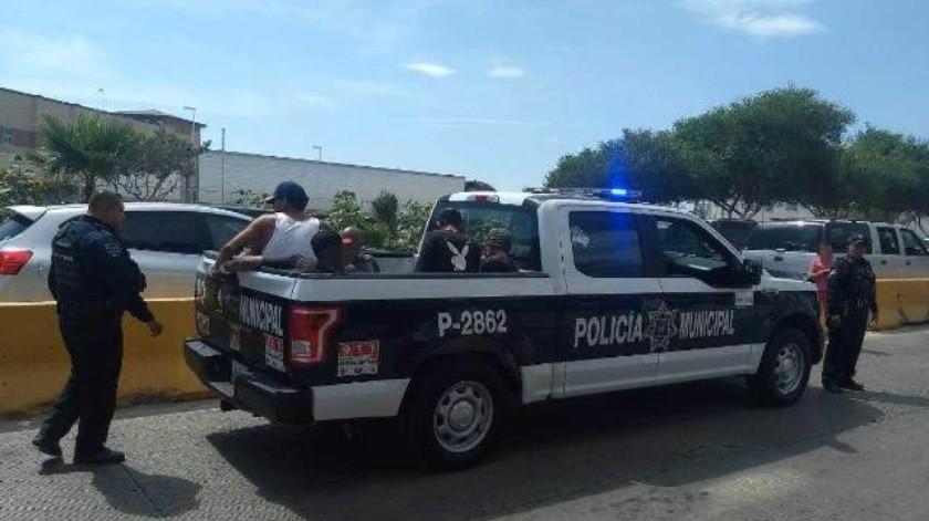 Apresan a sujeto que amenazó a ciudadano en garita de Otay