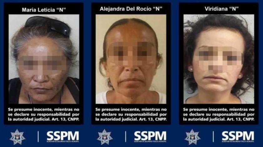 Apresan a 3 mujeres narcomenudistas en distintos puntos de Tijuana