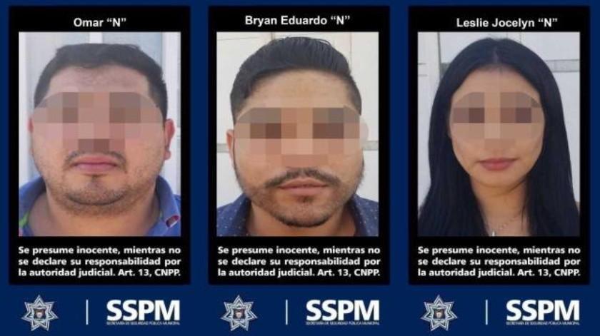 Policía Municipal aseguró a tres personas por posesión de arma de fuego en Tijuana