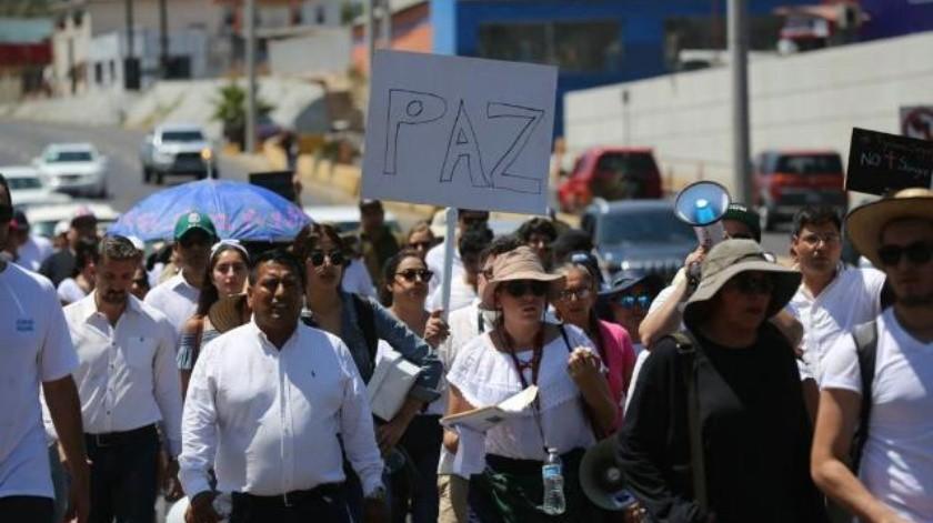 Inicia Mega Marcha por una Tijuana Segura