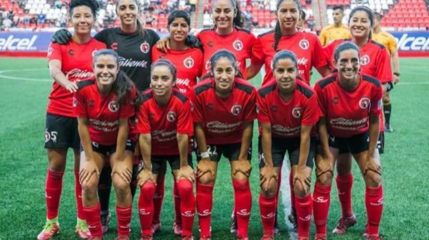 Recibe mañana Club Tijuana Femenil al América en el Estadio Caliente