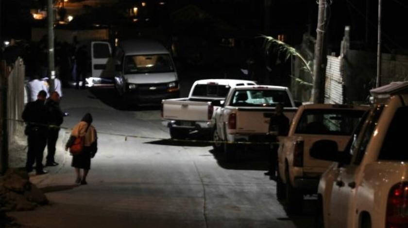 Ejecutan a hombre a tiros esta madrugada en Tijuana