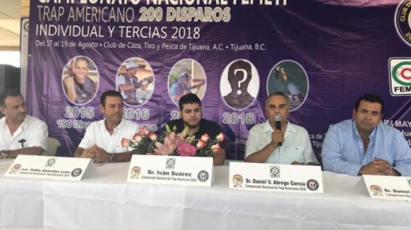 Anuncian campeonato de Nacional de Trap Americano en Tijuana