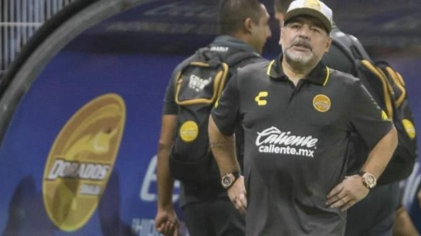 """""""Que no venga más"""", Maradona a Lionel Messi"""