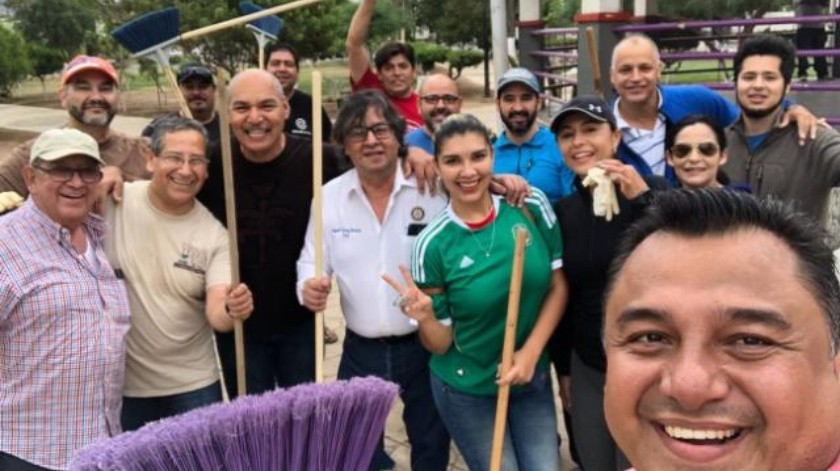 Marineros de Ensenada y Canaco cumplieron con el #BasuraChallenge
