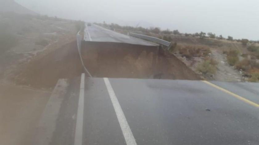 Dan detalles sobre daños en San Felipe, una de las vialidades colapsó por las lluvias
