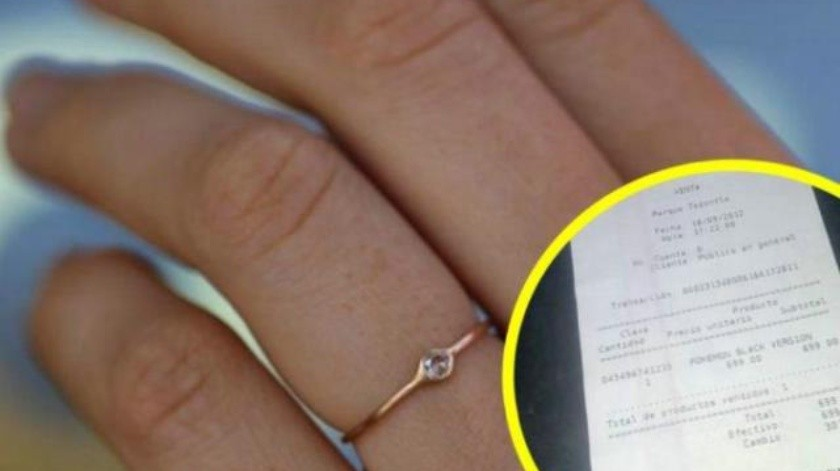 Se quejó en redes de su anillo de compromiso y los internautas le reclaman