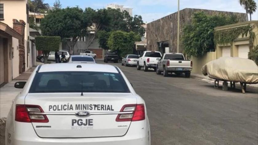 Roban con violencia domicilio en Lomas de Agua Caliente en Tijuana