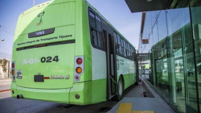 Anuncian desvío parcial de rutas del SITT por obras de Cespt