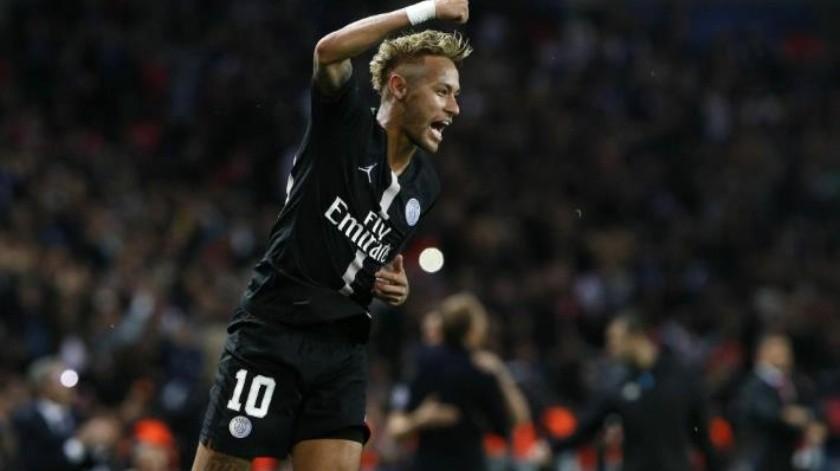 Con triplete de Neymar, PSG humilla 6-1 a Estrella Roja