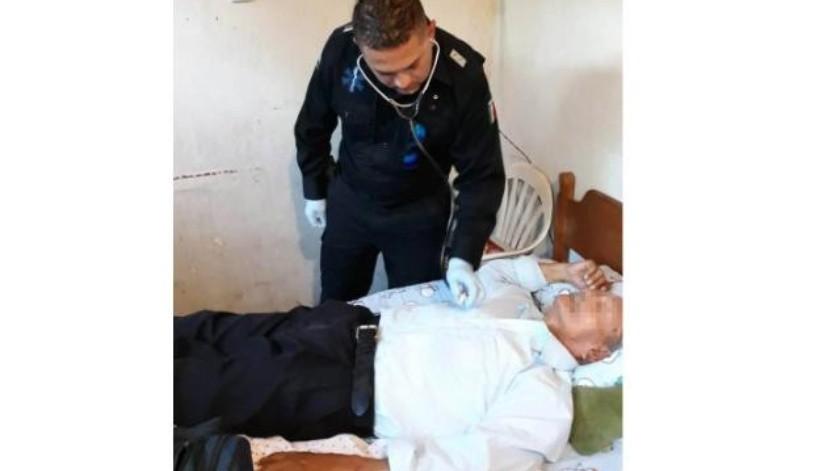 Auxilia Policía Comercial a hombre de la tercera edad